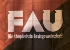 Fahne 01 - Kämpferische Basisgewerkschaft