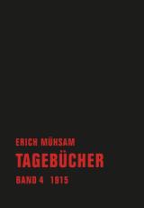 B1005: Erich Mühsam - Tagebücher Band 4