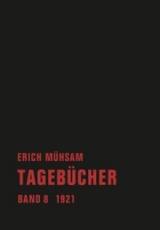 B884: Erich Mühsam - Tagebücher Band 8