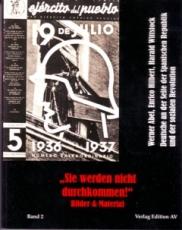 """B749: W. Abel, E. Hilbert & H. Wittstock """"Sie werden nicht durchkommen"""" Band 2"""