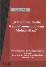 V108: Siegbert Wolf - Kampf der Bestie Kapitalismus und dem Moloch Staat