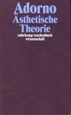 B259: T. W. Adorno - Ästhetische Theorie