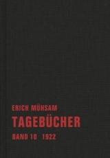 B575: Erich Mühsam - Tagebücher Band 10