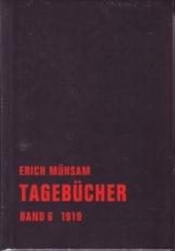 B275: Erich Mühsam - Tagebücher Band 6