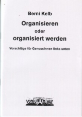 B1021: Berni Kelb - Organisieren oder organisiert werden