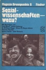 * Magazin Brennpunkte 8: Sozialwissenschaften - wozu?