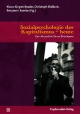 B190: Klaus-Jürgen Bruder, Christoph Bialluch, Benjamin Lemke (Hg.) - Sozialpsychologie des Kapitalismus - heute