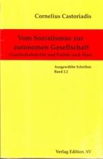 B605: C. Castoriadis - Vom Sozialismus zur autonomen Gesellschaft Bd. 2.2