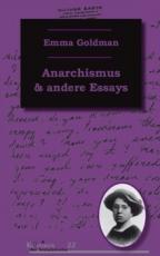 B487:  Emma Goldman - Anarchismus und andere Essays