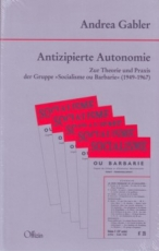 B207: A. Gabler - Antizipierte Autonomie