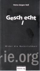 B467: H.J. Voß - Geschlecht.  Wider die Natürlichkeit