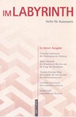 B1132: Im Labyrinth - Hefte für Autonomie. Heft 1