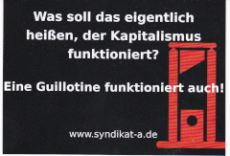 Aufkleber 09: Guillotine