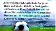 Aufkleber 32: Orwell