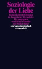 B1100: Hg.: Barbara Kuchler, Stefan Beher - Soziologie der Liebe