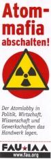 Aufkleber 07: Atom-Mafia abschalten