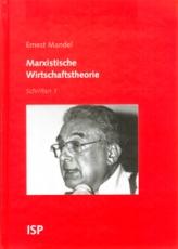 B109: E. Mandel - Marxistische Wirtschaftstheorie. Schriften 1