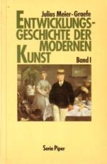 * Meier-Graefe: Entwicklungsgeschichte der modernen Kunst Bd. 1
