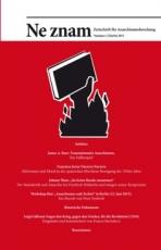 B1053:  Ne znam - Zeitschrift für Anarchismusforschung Nr. 2