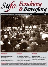 B1068: Syfo - Forschung & Bewegung  Nr. 10