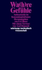 B1098: Hg.: Eva Illouz - Wa(h)re Gefühle.  Authentizität im Konsumkapitalismus